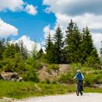 Mountainbiker beim Daarmossee